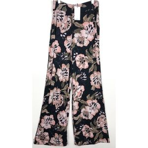 🆕 MNG   Palazzo Flare Wide Leg Floral Pants